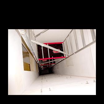 Lešení do výtahů